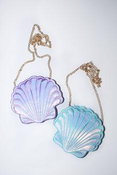 Mermaid's friend Crossbody in blue and purple $45.00 USD