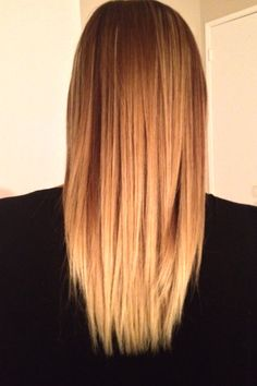 #brazilianblowout for #straight #hair to get rid of the #fuzz. I ♥️the way my hair feels and looks. My #ombre stands, and this is how It looks when I wake up  #straighthair  #ilovemyhair