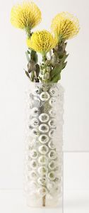 """""""bubble wrap"""" vase"""