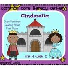 Cinderella 1st Grade Reading Street Common Core Literacy Centers
