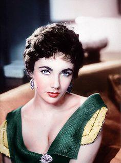 Elizabeth Taylor #1950s #celebrity