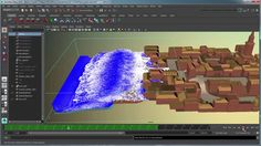 Creating a body of water simulation using Bifrost - Part 3: Creating and...