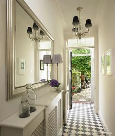 10 amazing ideas for decoration of small hallways entryway