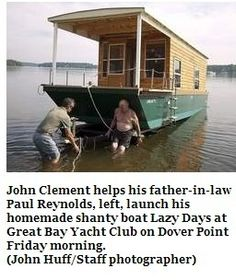 New Shantyboat Launched!