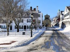 First Street In Plymouth Ma Photograph  - First Street In Plymouth Ma Fine Art Print