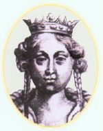 Maud of Savoy (1125 - 1158). Queen of Portugal from 1146 to her death in 1158. She was married to Afonso I and had seven children.