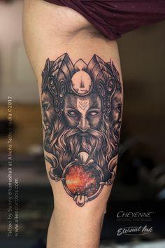 Lord Brahma Tattoo