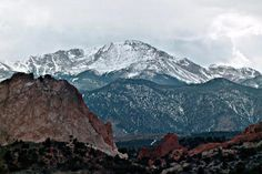 Garden of the Gods/Pikes Peak- Colorado Springs, CO..... been to both..absolutely amazing and breath taking...ahhhhhh :)