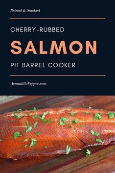 Cherry-Rubbed Smoked Salmon