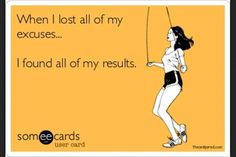 No Excuses=RESULTS
