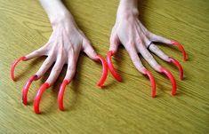 Long Nails (@longnailsvideo) · Instagram 照片和视频 Sexy Nails, Toe Nails, Long Square Nails, Long Fingernails, Curved Nails, Long Acrylic Nails, Perfect Nails, Manicure, Finger Nails