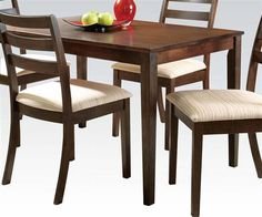 Tacoma Oak Wood Rectangle Dining Table (L 30 X W 48 )