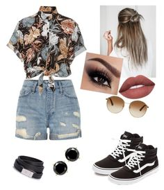 """Untitled #9"" by briana-luc ❤ liked on Polyvore featuring Vans, River Island, Faithfull and Gucci"