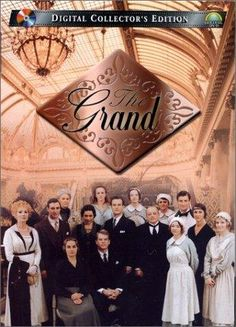 The Grand, mini series... at the end of World War 1, the Bannerman family re-opens the Grand Hotel. Starring Susan Hampshire, Paul Warriner & Rebecca Callard.