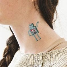 SWITCHES AND DIALS  temporary tattoo