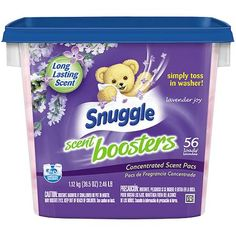 Snuggle Scent Boosters Lavender Joy Concentrated Scent Pacs, 56 count, 39.5 oz - Walmart.com