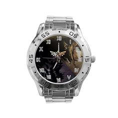 The Legend of Zelda Cool Custom stainless steel mens watch HOT sport watch ** Continue to the product at the image link.