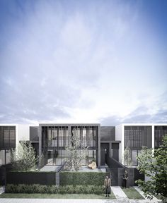 Conrad Architects Luxury Townhouse Development 04