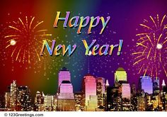 happy new year new year wishes happy new year ecards electronic cards