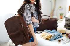 New Darlings - Nisolo Travel Collection - Luggage Leather Weekenders