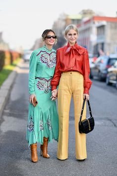Milan Fashion Week FW 2020 - Street Style Highlights Day 1 - FunkyForty | Funky Life style and Fashion
