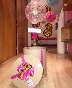 40 Valentinstag Dekor Idee mit Ballon für Ornament - Decoration For Home Best Birthday Surprises, Birthday Surprise Boyfriend, Friend Birthday Gifts, Birthday Diy, Best Friend Gifts, Gifts For Friends, Valentines Bricolage, Valentines Diy, Diy Birthday Decorations