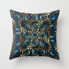 CenterViewSeries295 Throw Pillow by fracts - fractal art - $20.00