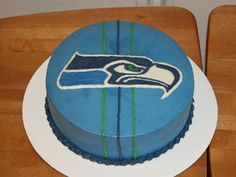 Party Cakes: Seattle Seahawks Birthday Cake