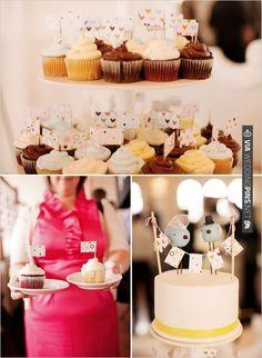 wedding cupcake stand | CHECK OUT MORE IDEAS AT WEDDINGPINS.NET | #weddingcakes