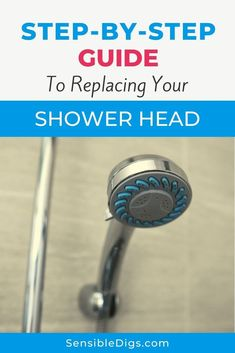 Is your shower head clogged up with limescale? Is it a little worse for wear and starting to bring down the look of your bathroom? Then you can replace it! Our guide shows you how. Shower Fixtures, Shower Faucet, Dripping Faucet, Low Water Pressure, Plumbing Problems, Home Management, Water Quality, Shower Remodel, Bath Tub