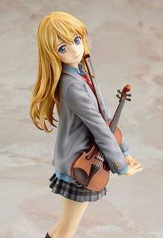 AmiAmi [Character & Hobby Shop] | Your Lie in April - Kaori Miyazono 1/8 Complete Figure(Pre-order)