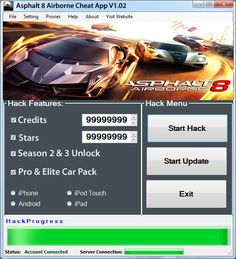 Asphalt 8 Airborne hack tool is out right now and you can get more then 100000 Free credits and stars to your account for free. #asphalt8airborne #asphalt8airbornehack #asphalt8hack #asphalt8