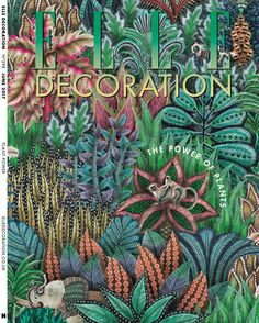We're excited to see Singita 109/7035 grace the cover of this month's @elledecorationuk subscriber edition! Take a closer look at the intricate designs and read more about our inspiration for the collection with @ardmoreceramicart. Who's grabbed a copy?  #wallpaper #ardmore #interiorinspiration