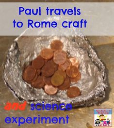 Paul's journey to Rome craft Sunday School Curriculum, Sunday School Activities, Church Activities, Sunday School Lessons, Sunday School Crafts, Sabbath Activities, Youth Activities, Bible School Games, Bible School Crafts