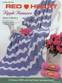 Ripple Romance Afghan LW1238 | Free Patterns | Yarn