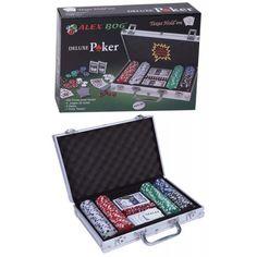 Maleta de póker diseñada en aluminio.  http://www.cosaspararegalar.es/ideas-para-regalar/juegos-de-mesa/maleta-juego-poker.html