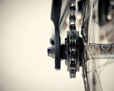 Abstract Photography Bike Fixie chain by MyKaleidoscopePhotos, €22.00