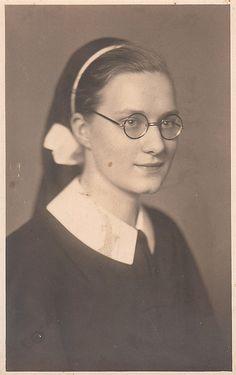 Nun Antique Real Photo Postcard by vintagegoodness, via Flickr