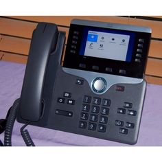 CP-8841-K9-RF Cisco IP 8841 LCD Color Display PoE Digital Conference Phone 882658698514 Office Phone, Landline Phone, Conference, Display, Digital, Color, Floor Space, Billboard, Colour