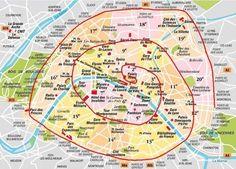 les arrondissements de paris - Google Search