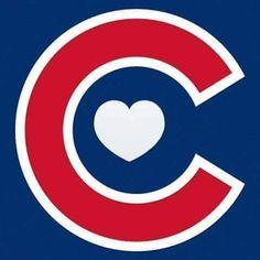 Love my Cubs Chicago Cubs Baseball, Chicago Blackhawks, Chicago Cubs Logo, Espn Baseball, Baseball Signs, Baseball Bats, Cubs Wallpaper, Illini Basketball, Cubs Tattoo