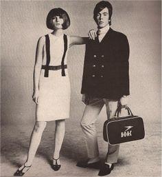 Richard Avedon * Harper's Bazaar (April 1965) via devodotcom: