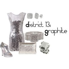 District 13: Graphite, created by checkers007.polyvore.com  Outfit for The Hunger Games, District 13: Graphite.