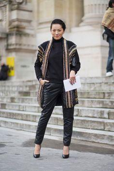 Or this... Tina Leung Emmanuelle Alt  - HarpersBAZAAR.com