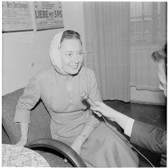 Lida Baarova (Joseph Goebbels mistress) in her later years