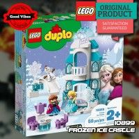 LEGO 10899 Frozen Ice Castle DUPLO Mainan Anak Istana Disney Original #thekingbricks #theking #thekingid #kingbricks #gvonline #uhappyihappy #tokolegoterpercaya #tokomainanoriginal #lego10899 Lego Duplo Sets, Lego Disney Princess, Lego Creator, Disney Frozen, Lego Junior, Elsa, Lego City Police, Appliance Packages, Ice Castles
