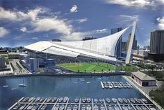 Tampa Bay - 2007 ballpark proposal with retractable roof.