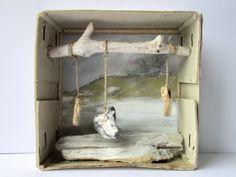 mano kellner, art box nr 343, holz und stein (møn)