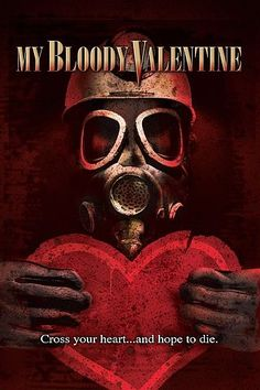 Horror movies in the 80's were the best! Watching my bloody Valentine now