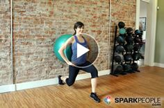 Firm and Burn! Lower Body Workout with Ball (just 8 minutes)